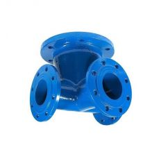 The tee for the hydrant flange cast iron, DN 100/100 / PN16