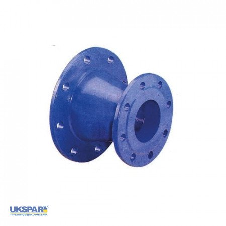 Transition cast iron flanged, DN 150x100 L=200 / PN16