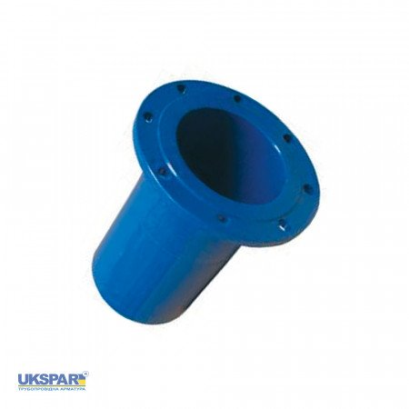 Pipe fitting for PVC pipe flange cast iron, DN 150/160 / PN16