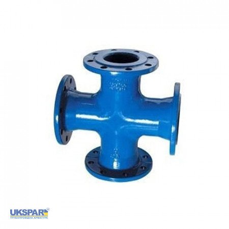 Cross-section flanged cast-iron, DN 300/150 / PN16