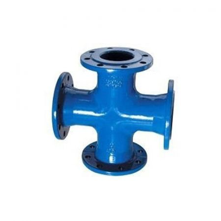 Cross-section flanged cast-iron, DN 250 / PN16