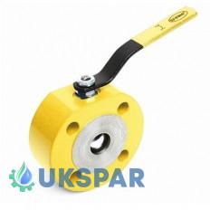 Кран шаровой стальной фланцевый полнопроходной EFAR, Ду 15 / PTFE / PN40