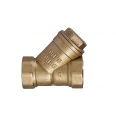 Sediment filter coupling  brass, DN 15 / PN16
