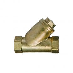Sediment filter for gas coupling brass, DN 15 / PN 10