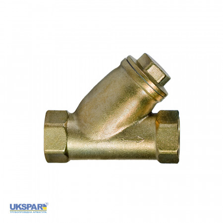 Sediment filter for gas coupling brass, DN 50 / PN 10