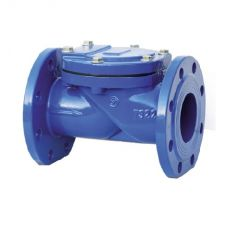 Check valve rotary flange cast iron, DN 50 / plate-steel + NBR / NBR / PN16
