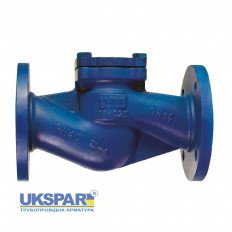 Check valve lifting flange steel, DN 50 / plate-stainless / PN40
