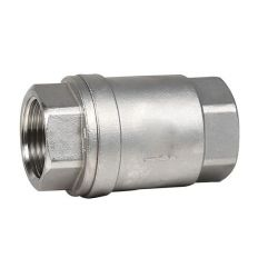 Check valve, socket weld, stainless steel, DN 15 / plate-SS304 / PTFE / PN16