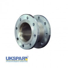 Compensator axial flange, steel with inner insert KAYSE, DN 25 / L30 / PN16
