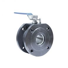 Ball valve flange steel, DN 15 / ball-NJ steel 304 / PTFE / PN16