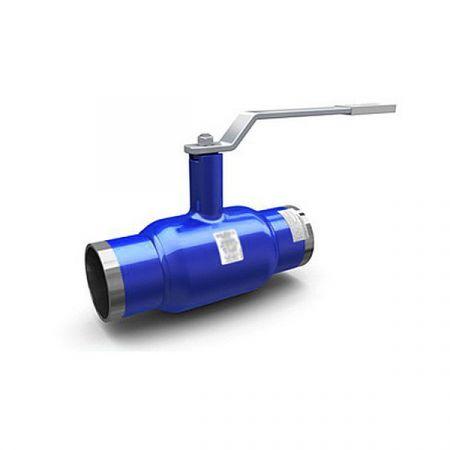 Ball valve  reduced bore welded steel, DN 40 / ball-NJ steel 304 / PTFE / PN25
