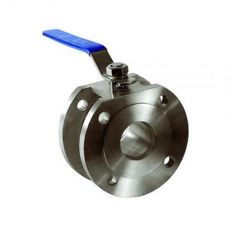 Ball valve flange stainless, DN 15 / ball-NJ steel 304 / PTFE / PN16