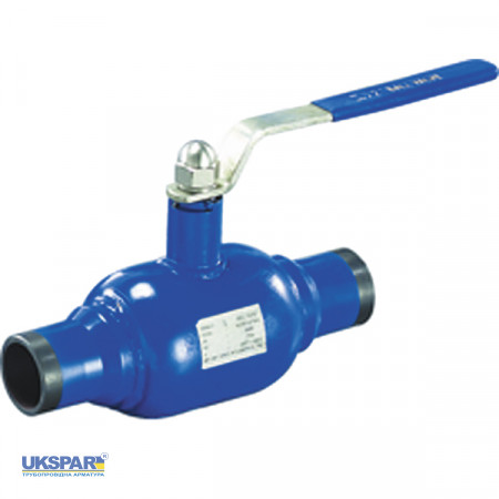 Ball valve full-bore welded steel, DN 50 / ball-NJ steel 304 / PTFE / PN16
