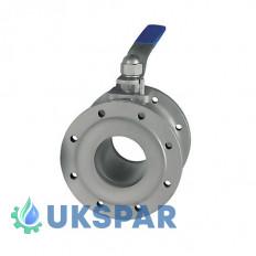 Кран шаровой  фланцевый стальной, Ду 15 / шар-нж сталь 304 / PTFE / PN25