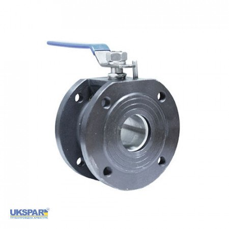 Ball valve flange steel, DN 20 / ball-NJ steel 304 / PTFE / PN16