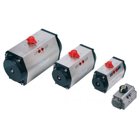 Pneumatic actuators double acting 2A,  63