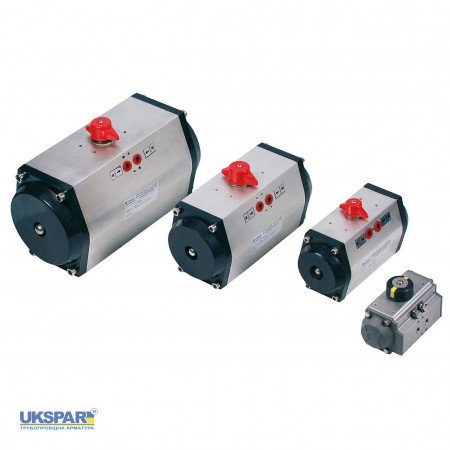 Pneumatic actuators double acting 2A, 105