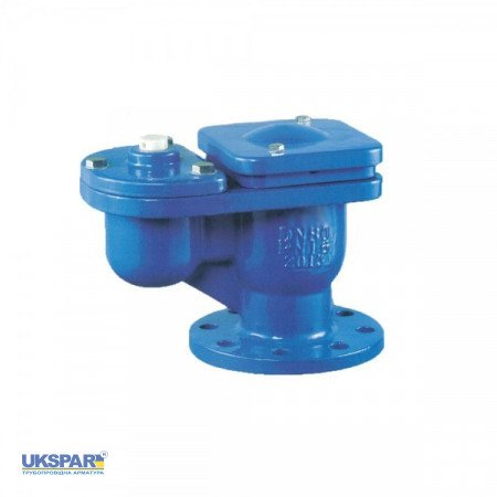 Air aeration plunger flange cast iron,  DN200 / float-plastic / PN16