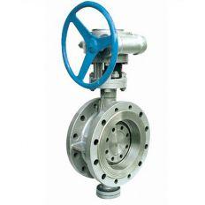 Затвор дисковый фланцевый с эксцентричным диском нержавеющий, Ду 50 / диск-нж сталь 304 / PN16