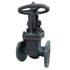 Wedge steel valve, DN 50 / PN16