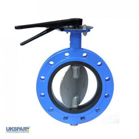 Rotary disc butterfly valve cast iron, DN 800 / disc-SS steel 316 / VITON / PN16