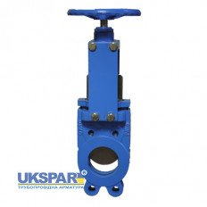 Gate valve double-sided seal ductile iron, DN 50 / gate-SS steel 316 / NBR / PN10